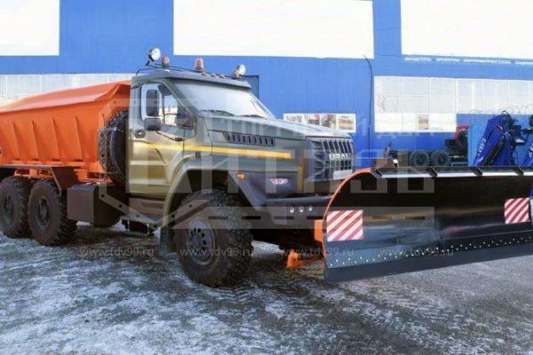 Купить Комбинированная дорожная машина МКДУ 54856 Урал-NEXT 55571 - Цена снижена!