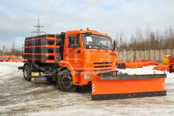 Купить Комбинированная дорожная машина МКДУ 10 КАМАЗ 53605 - Цена снижена!