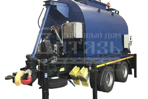 Купить Установка для приготовления и транспортировки литого асфальтобетона «Бастион ЛА-04» - Цена снижена!