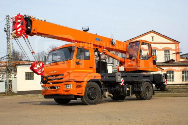 Купить Автокран КамАЗ 43253 16т 18,4м - Цена снижена!
