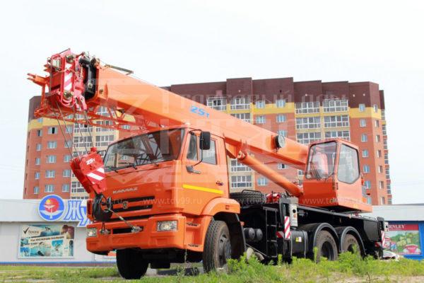 Купить Автокран КамАЗ 65115 25т 21,6м - Цена снижена!
