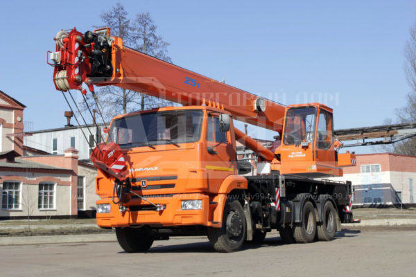 Купить Автокран КамАЗ 65115 25т 28м - Цена снижена!