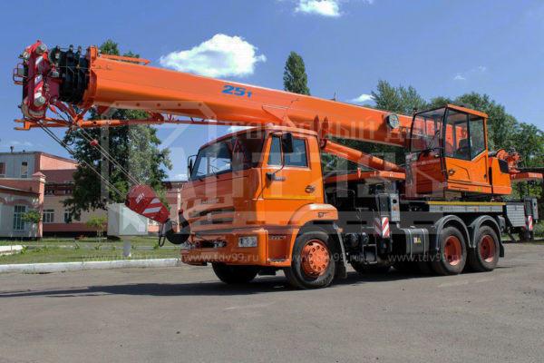 Купить Автокран КамАЗ 65115 25т 32,5м - Цена снижена!