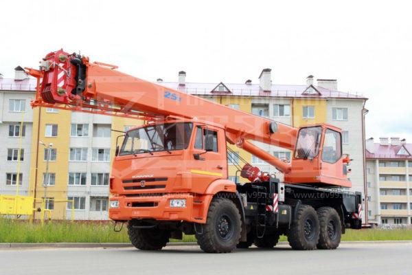 Купить Автокран КамАЗ 43118 25т 21м - Цена снижена!