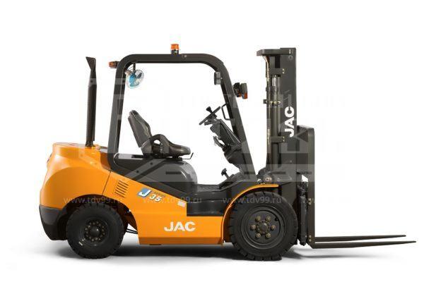 Купить Дизельный погрузчик JAC CPCD 35 - Цена снижена!