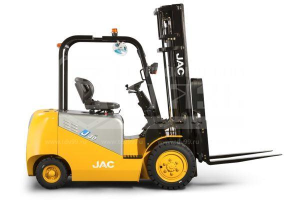 Купить Электропогрузчик JAC CPD 30 EURO BC/АС - Цена снижена!