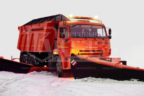 Купить Комбинированная дорожная машина КДМ 45.115 КАМАЗ - Цена снижена!