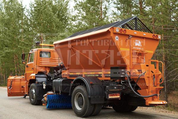 Купить Комбинированная дорожная машина КДМ 53605 КАМАЗ - Цена снижена!